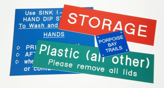 industrial signs engraving and cutting in Sydney