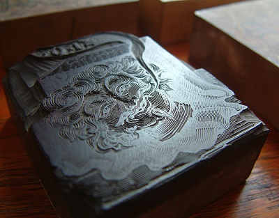 Performing Wood Engraving Via The Laser System   Engraving & Block Printing Services